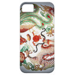 Dragon and Phoenix Stencil iPhone 5 Case