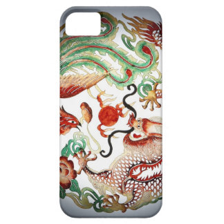 Dragon and Phoenix Stencil iPhone 5 Cover