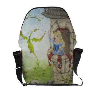 Dragon and Princess Messenger Bag