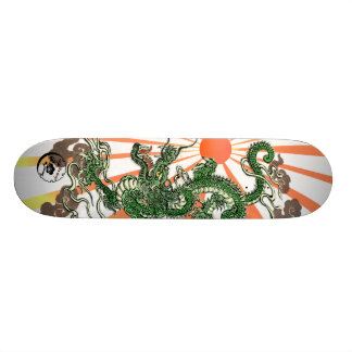 Dragon and Rising Sun Skate Board Decks