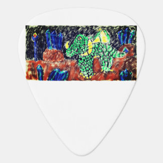 Dragon and Sapphire two Plectrum