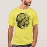 dragon and tiger yin and yand symbol T-Shirt