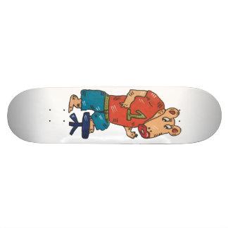 dragon angles 21.3 cm mini skateboard deck