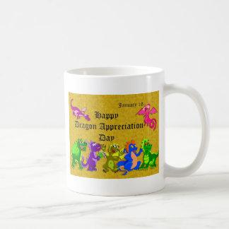 Dragon Appreciation Day January 16 Basic White Mug