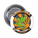Dragon Army Gear 6 Cm Round Badge