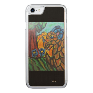 dragon art 6 carved iPhone 8/7 case