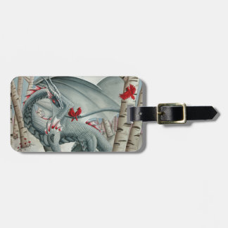 Dragon art - Fantasy Art Luggage Tag