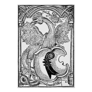 ◊ Dragon Art - the Basilisk Poster