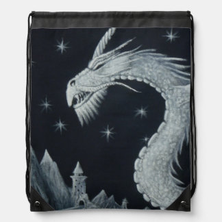 Dragon At Night Bag