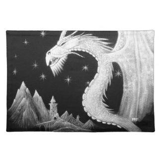 Dragon at Night Painting Placemat