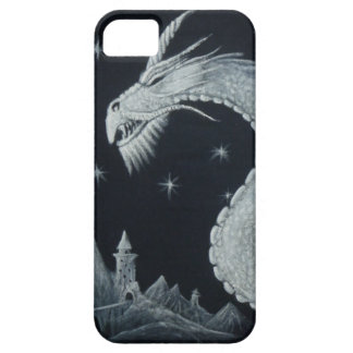 Dragon at Night Phone Case