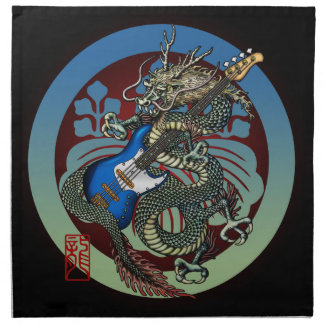 Dragon Bass 04 Napkin