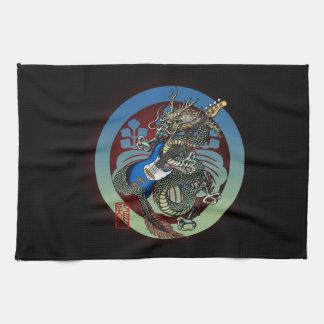 Dragon Bass 04 Towel