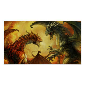 Dragon Battle, Poster