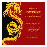 Dragon Birthday Custom Invites