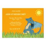 Dragon Birthday Party 13 Cm X 18 Cm Invitation Card