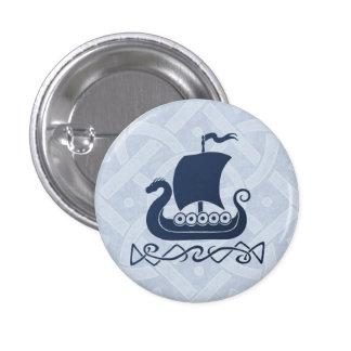 Dragon boat Button - Blue