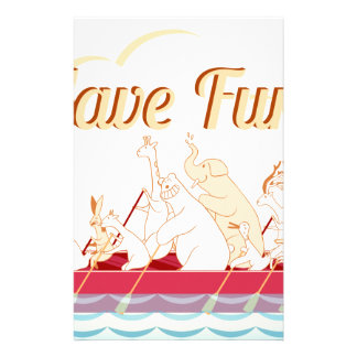 Dragon Boat - Fire Dragon - Have Fun Customized Stationery