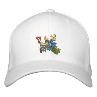 Dragon boat head embroidered hats