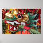 Dragon Boat Headpiece Poster