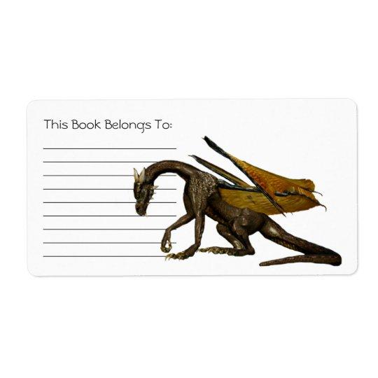 Dragon Bookplate