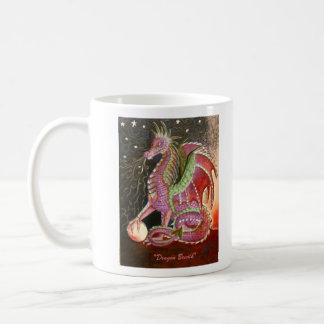 """""""Dragon Breath"""" Basic White Mug"""