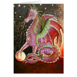 Dragon Breath Greeting Card