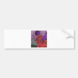 Dragon Bumper Sticker