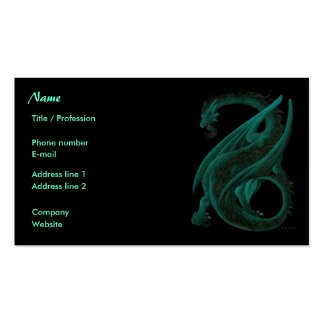 Dragon Business Card Template