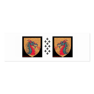 Dragon Pack Of Skinny Business Cards
