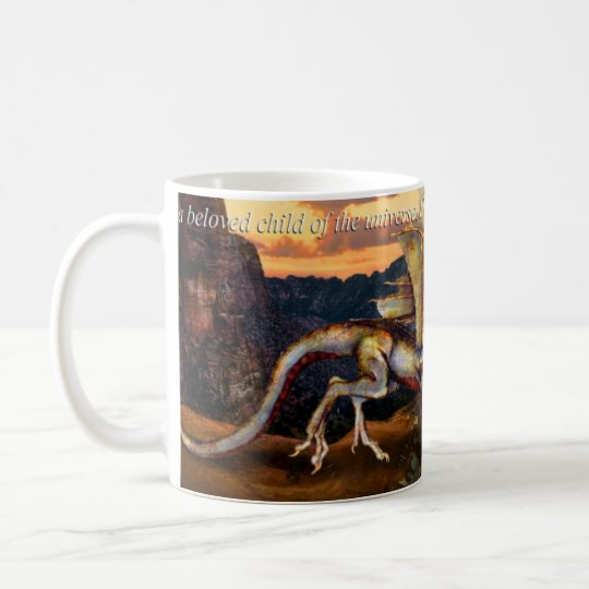 Dragon Canyon Affirmation Mug