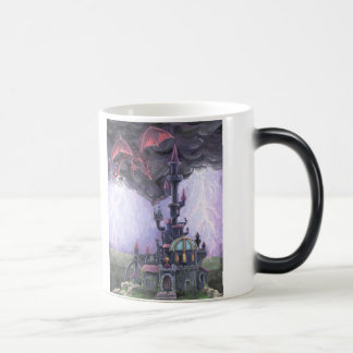 Dragon Castle Morphing Mug