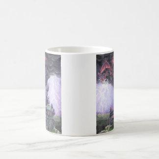 Dragon Castle Basic White Mug