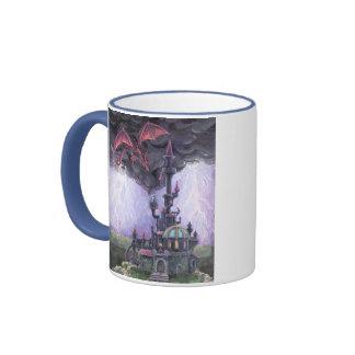 Dragon Castle Ringer Mug