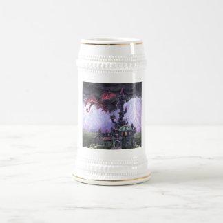 Dragon Castle Beer Steins