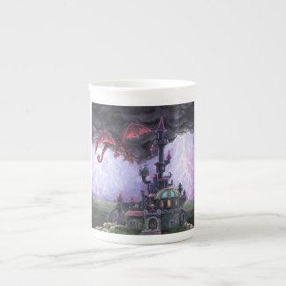 Dragon Castle Bone China Mug