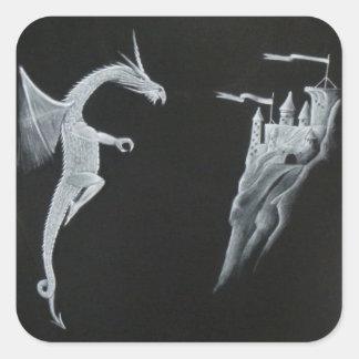 Dragon & Castle Stickers