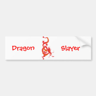 Dragon/Chinese New Year Bumper Sticker