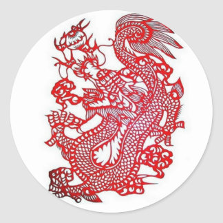 Dragon-Chinese Zodiac/ Classic Round Sticker