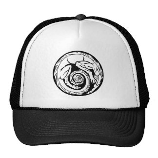 Dragon Circle Design Cap