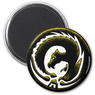 Dragon Circle Magnet