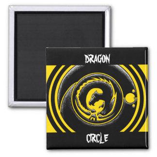Dragon Circle Magnets