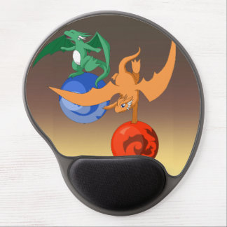 Dragon Circus Dusk Ergonomic Mousepad Gel Mouse Mat