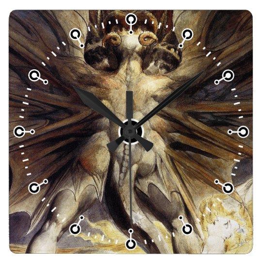 Dragon Clock - William Blake - Great Red Dragon