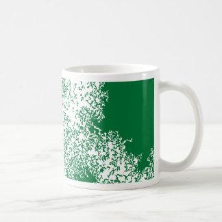 Dragon Clouds 04 in green Coffee Mugs