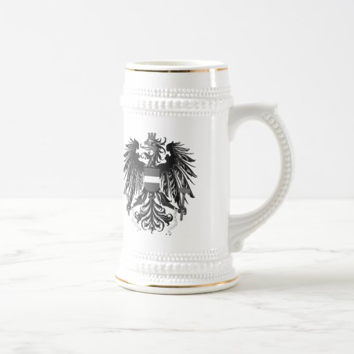 Dragon Coat Of Arms 18 Oz Beer Stein