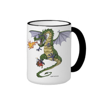 Dragon Coffee Mugs and Beer Steins