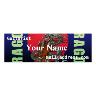 Dragon Contrabass Pack Of Skinny Business Cards