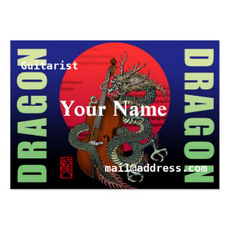 Dragon Contrabass Pack Of Chubby Business Cards