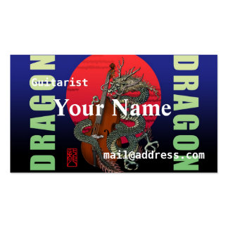 Dragon Contrabass Pack Of Standard Business Cards